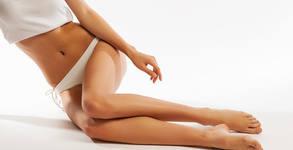 Антицелулитна терапия на бедра, седалище и паласки - без или със масажни вендузи и боди репинг