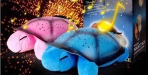 Подарък за детето! Интерактивна нощна лампа с музикални и светещи функции, бонус USB кабел