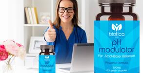 Хранителна добавка pH Modulator за нормализиране киселинността в организма