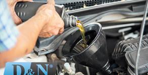 Смяна на масло с 10W40 или 5w30 Aral и маслен филтър на автомобил
