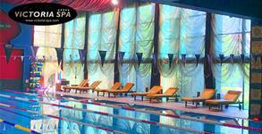Месечна карта за ползване на плувен басейн, фитнес, сауна, парна баня и солна стая