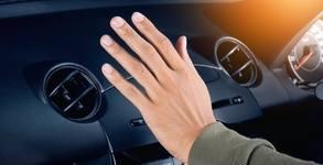 Озонова дезинфекция на купе на автомобил с професионална машина Мahle Оzone Pro