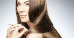 Ламиниране на косата с кератин и инфраред преса, плюс подстригване и оформяне