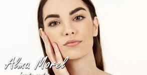 Диамантено микродермабразио на лице, шия и деколте, плюс ензимен пилинг, серум и маска