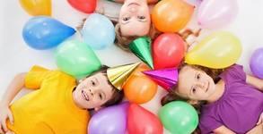 Рожден ден за 10 деца! 2 часа игри, състезания и танци, плюс украса и фотозаснемане