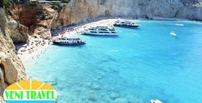 Летен релакс на остров Лефкада! 5 нощувки със закуски и вечери, плюс транспорт и възможност за круиз до Йонийските острови