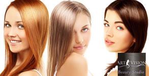 Терапия по избор и оформяне - без или със подстригване, или боядисване с боя на клиента