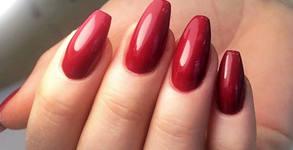 2 процедури поддръжка на ноктопластика с гел Сrystal Nails