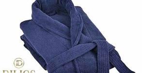 Халат за баня Деним от 100% памук - в размер и цвят по избор