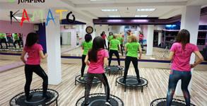 1 тренировка по Fit Jumping - фитнес на батут