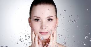 Кислородна терапия за лице за дълбока хидратация, плюс ултразвук и ампула с витамини