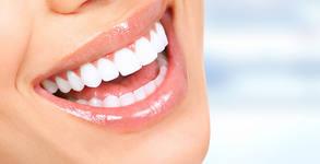 Фотополимерна пломба или почистване на зъбен камък с ултразвук, полиране и преглед