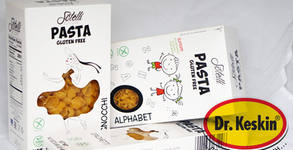 """3 пакета паста без глутен """"Sotelli"""" - буквички, ньоки и спагети"""