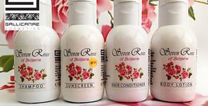 Комплект за пътуване с продукти Seven Roses или био олио против стрии Gallicanae