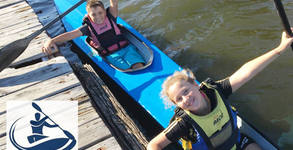Едномесечна карта за уроци по кану-каяк със специалист треньор за деца от 10 до 14г