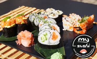 Вкус от Изтока! Суши сет за вкъщи - Ин Ян или Голден, от My Sushi Bar