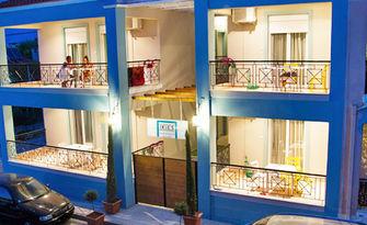 През Септември в Офринио, Гърция! 3, 4 или 5 нощувки за двама, от Ikies Luxury Apartments - на на 30 метра от плажа