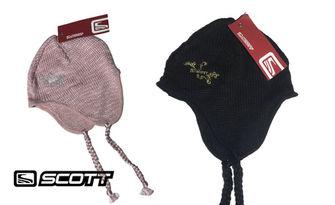 Дамска шапка Scott USA, в черен или розов цвят, от Облекла и спортни стоки МКК