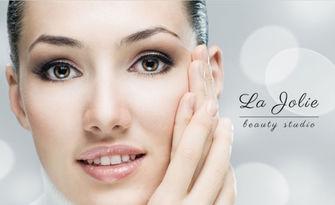 Красиво лице! Диамантено дермабразио, криотерапия, ензимен пилинг и маска, от Студио La Jolie