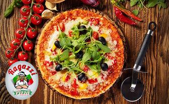 Салата и малка пица, по избор, от Пицария Рагаци