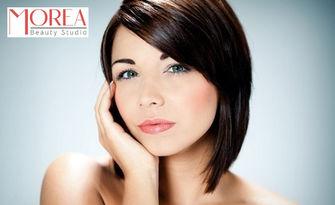 Радиочестотен лифтинг на лице, плюс криотерапия и кислородна мезотерапия с колаген, от Beauty Studio Morea