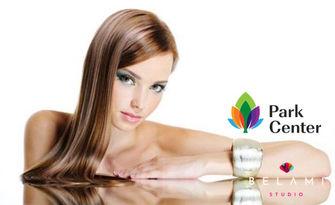 """Терапия за коса """"Q10 реконструкция"""", плюс оформане със сешоар или преса, от BelAmi Studio - Park Center"""
