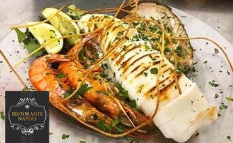 Традиционна неаполитанска кухня в центъра на София! Ястие с месо или паста по избор, от Ресторант Наполи