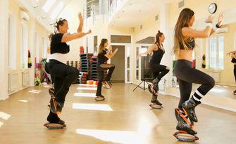 4 посещения на Kango Jumps, от Танцов клуб Леона