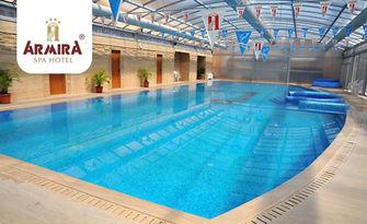 Цял ден SPA релакс в Старозагорски минерални бани - минерален басейн, сауна, парна баня и фитнес, от Хотелски комплекс Армира****