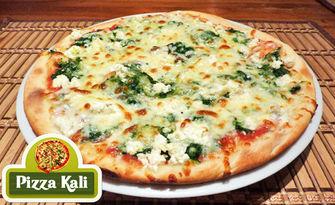 Великолепен вкус от Апенините! Ръчно приготвена пица по избор - с висококачествени италиански продукти, от Пицария Кали
