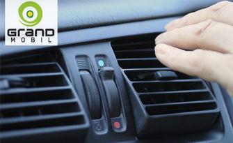 Профилактика на климатичната система на автомобил, от Автоцентър Grand Мobil