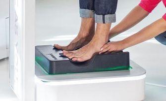 Анализ на стъпалата и динамичен анализ по време на движение, от AllSport
