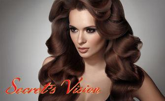 Канелена терапия против косопад и пърхот, плюс оформяне със сешоар, от Secret's Vision