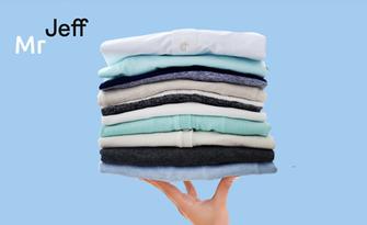 Изпиране на дрехи до 5кг или до 10кг по нова еко технология, плюс сушене и сгъване, от Mr Jeff Младост