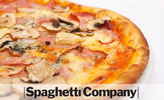 Хапване по избор - пица, пилешко филе или талиатели със скариди, от Spaghetti Company