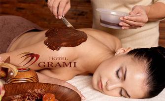 """100 минути терапия """"Шоколадова целувка"""": масаж на цяло тяло и грижа за лице, от Wellness Center Grami"""