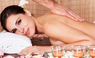Дълбокотъканен масаж на цяло тяло, от Студио Александра