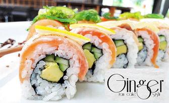 Вкус от Изтока! Суши сет с 34 или 62 хапки, от Ginger