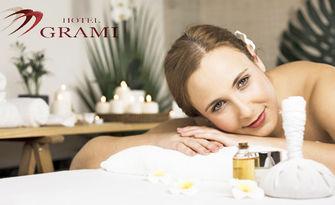 """SPA ритуал """"Клеопатра"""" - пилинг и масаж на цяло тяло, масаж на лице и чаша чай, от Wellness Center Grami"""