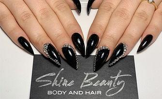 Красиви нокти! Маникюр с гел лак Bluesky, от Shine Beauty Studio