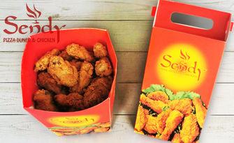 1кг бокс с пържено пиле за вкъщи, от Sendy Pizza Duner & Chicken