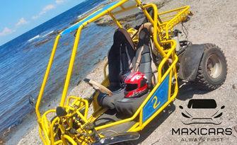 80 минути приключение! Офроуд разходка с бъги в покрайнините на Слънчев бряг - за един или двама, от Maxicars