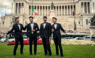 """Концерт на вокалния квартет """"Четиримата италиански тенори"""" - на 26 Март, в Читалище """"Заря"""""""
