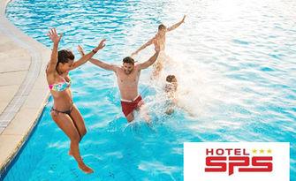 Разхлади жегите! Вход за цял ден ползване на басейн, от Хотел SPS