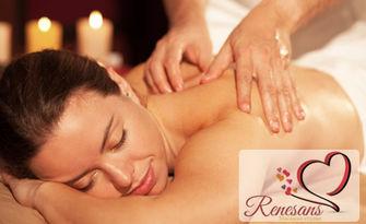 Релаксиращ масаж Снехана на цяло тяло с топли билкови масла, плюс рефлексотерапия, от Студио Renesans