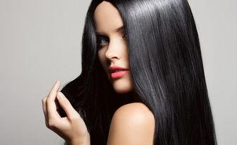 Хидратираща инфраред терапия за слаба коса с млечни протеини и оформяне със сешоар и продукти Milkshake, от Фризьорски салон Силви