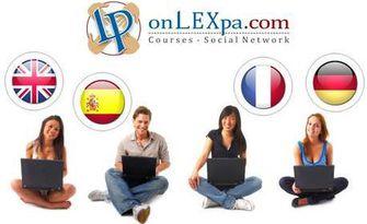 Двумесечен онлайн курс по английски, немски, испански или френски език, плюс IQ тест, от onLEXpa.com