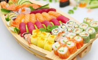 Екзотичен вкус! Суши сет по избор - с 30, 54 или 74 хапки, от Sushi Zone Bg
