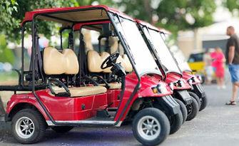 Наем на електрическа голф количка в Слънчев бряг, от Golf Cars Lazur, Слънчев бряг