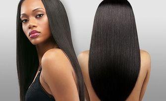 Ламиниране на коса с инфраред преса и бамбукова терапия, плюс подстригване и оформяне със сешоар, от Салон Зорница